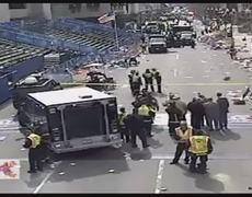 Breaking News Explosion reported near finish line of Boston Marathon 15042014