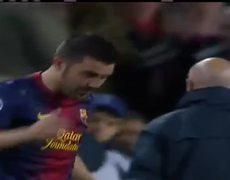 Barcelona vs PSG 1 1 Goal 10042013