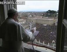 The first Angelus the Pope Francis