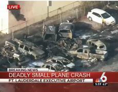 Breaking News Plane Crash 3 Men Dead