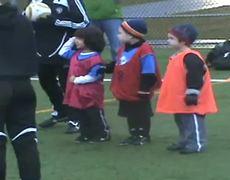 Cute girls soccer fail