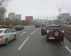 Accidente de Autos en carreteras de Rusia