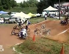 Six Man Bike Race FAIL