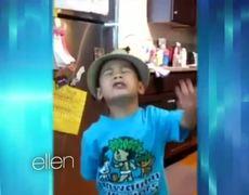 Cute kid 4YearOld Sings Grenade