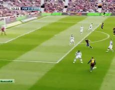 Barcelona vs Getafe 2 0 Lionel Messi Goal La Liga 2013