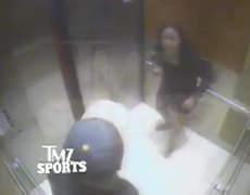CAUGHT ON VIDEO Ray Rice HITS and KO Fiancee