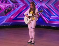 The X Factor UK 2014 Emily Middlemas sings Cher Lloyds I Want U Back Audition Week 2