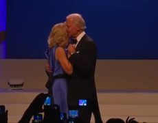 Bidens Dance to I Cant Stop Loving You