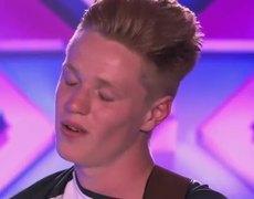The X Factor UK 2014 Stevie Tennet sings James Morrisons I wont let you go