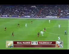 Real Madrid Vs Valencia 0 0 15012013 Cristiano Ronaldo Back Heel Genius Pass