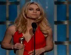 Golden Globes 2013 Claire Danes WINS TV Series Drama HOMELAND