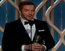 Golden Globes 2013 Damian Lewis of Homeland WINS Golden Globes 2013 Best Actor TV