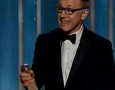 Golden Globes 2013 Christoph Waltz wins Best Supporting Actor Django Unchained