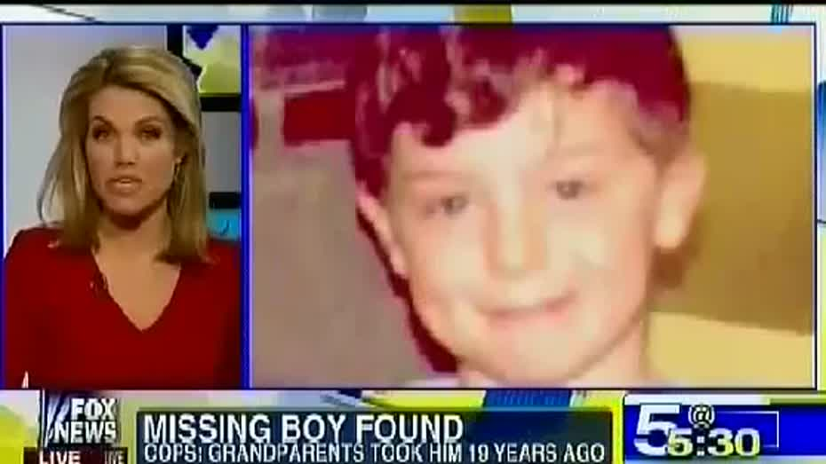 Raw Missing Boy found After 20 Years Indiana Boy Abducted in 94 Found in  Minnesota Richard Landers