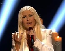The Peoples Choice Awards 2013 Christina Aguilera Blank Page Voice Award HD