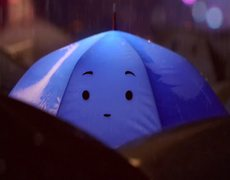 The Blue Umbrella Disney Pixar Clip Oficial 2013 HD