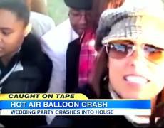 Tape in San Diego HotAir Balloon Wedding Crash Caught