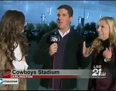 Drunk Texas AM Fans Interrupt Reporter on Live