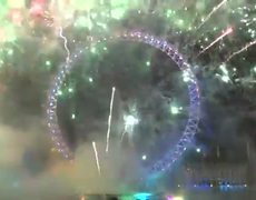 New Year 2013 in London FireWorks