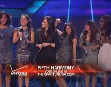 The X Factor USA 2012 Finals Fifth Harmony Demi Lovato Give Your Heart A Break