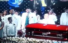 Ghost on Funeral Of Jenny Rivera Gibson Amphitheatre ... Jenni Rivera Funeral Services