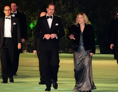 Prince William meets The Hobbits