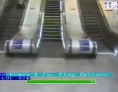 Embarrassing accidents in train stations