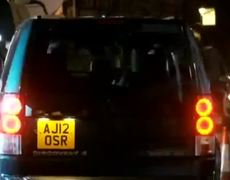 Prince William leaves hospital smiling after visiting Kate
