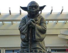 New Yoda Statue in San Francisco CA