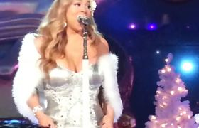 mariah carey performance christmas time is in the air again live 2012