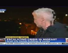 Bomb Explodes Right Near Anderson Cooper During Live Report