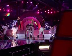 The Voice USA 2012 Christina Aguilera Let There Be Love Live