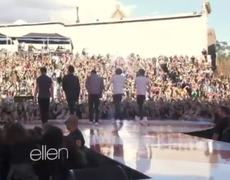 One Direction Performs What Makes You Beautiful Live On The Ellen Show 15112012