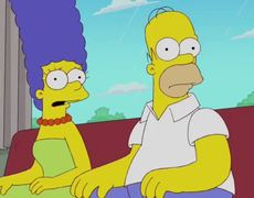 The Simpsons Homers New Hero from Gone Abie Gone Only On Fox