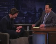 Robert Pattinson on Jimmy Kimmel Show Part 2