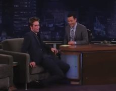 Robert Pattinson on Jimmy Kimmel Show Part 1