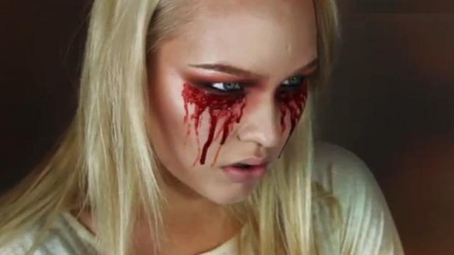 Easy Bloody Mary Halloween Makeup Tutorial Videos Metatube