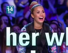 THE X FACTOR USA 2012 Demi Lovato Super Cool Chick