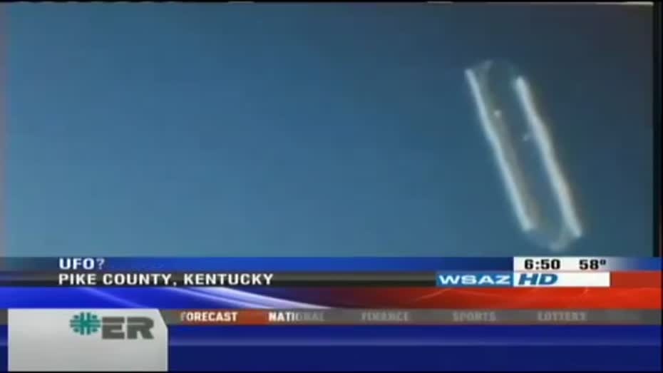 UFO Caught On Video Seen in KY TN and VA