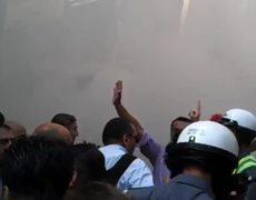 Raw Car bomb blast in Lebanese capital