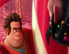 WreckIt Ralph Official Movie Clip Ralph Meets Vanellope 2012 HD