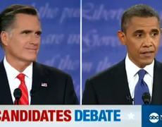 The Candidates First Debate Mitt Romney vs Barack Obama