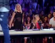The X Factor USA 2012 Nick Youngermans Ice Ice Baby Britney Spears Dancing Audition