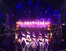 Americas Got Talent 2014 Flight Crew Jump Rope Team Jumps Rope to Ariana Grandes Break Free