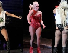 Lady Gaga unrecognizable with a few extra kilos