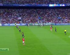 Barcelona vs Spartak 1 1 Autogol Dani Alves