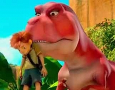 Dino Time 3D Official Movie Trailer 2012 HD Rob Schneider Jane Lynch Animated Movie