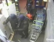 ATM ladrones atrapados por Camara de Seguridad