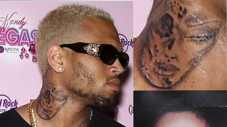 Chris Brown New Tattoo Of Rihanna Videos Metatube