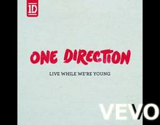 One Direction Live While Were Young instrumental Official Audio